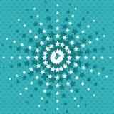 Pointed stars background wallpaper design. Pointed stars background wallpaper decoration effect icon. Colorful design. Vector illustration royalty free illustration