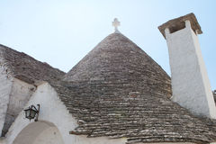 Pointed Stone Roof Royalty Free Stock Image