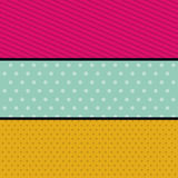 Pointed and striped background design. Pointed striped background wallpaper decoration and effect icon. Multicolored design. Vector illustration Stock Images