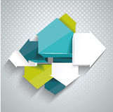 Pointer arrows. Graphic or website layout. Royalty Free Stock Photos