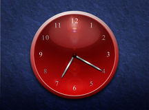 Pointer clock Stock Photo