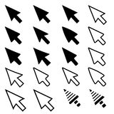 Pointer Icons Royalty Free Stock Images
