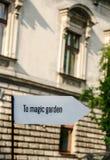 Pointer magia ogród fotografia royalty free