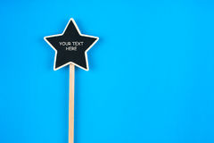 Pointer star  with space for your text Stock Image