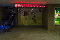 Pointer store Rossmann Stock Image