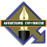 Pointer to Advertising Copywriter Royalty Free Stock Photography