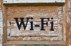 Pointer of wi-fi Royalty Free Stock Photography