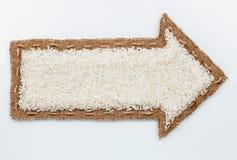 Pointer z ryżowymi adra obraz royalty free