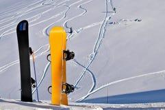 pointes grandes fraîches de freeride Image stock