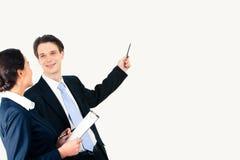 Pointing Royalty Free Stock Photos