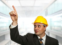 Pointing Stock Photography