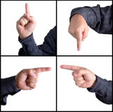Pointing In Every Direction Royalty Free Stock Photos