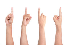 Pointing Finger Royalty Free Stock Image