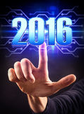 Pointing 2016 Stock Photos