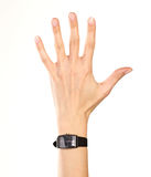 Pointing hand Royalty Free Stock Images