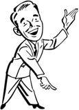 Pointing Man Stock Photo