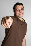 Pointing Man Stock Image