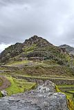 Pointing to Pisac Royalty Free Stock Images