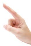 Pointing Upwards Royalty Free Stock Image