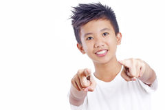 Pointing At You Stock Photography