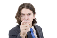 Pointing Royalty Free Stock Image