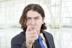 Pointing Stock Image