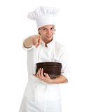 Pointing yuou male cook Royalty Free Stock Photo