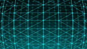 Points abstraits de connexion technologie de planète de téléphone de la terre de code binaire de fond Illustration de Digital Con Photographie stock