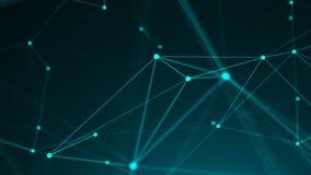 Points abstraits de connexion technologie de planète de téléphone de la terre de code binaire de fond Thème de Digital Concept de Photo stock