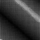 Points blancs sur le fond noir, rétro style Photos libres de droits