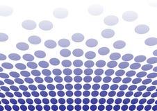 Points bleus pour des milieux Image libre de droits