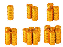 Points coins Stock Image