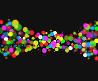 Points colorés Image libre de droits