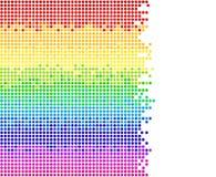 Points colorés Images stock