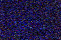 Points colorés aléatoires de bruit de résumé brouillés par mouvement sur le fond noir images stock