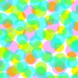 Points colorés Images libres de droits