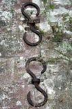 Points d'attache de mur Image libre de droits