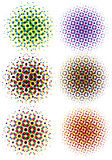 Points d'image tramée de Cmyk Images libres de droits