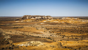 Points d'interruption Coober Pedy Photographie stock libre de droits
