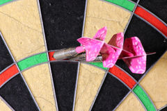 180 points darts - one eighty Stock Images