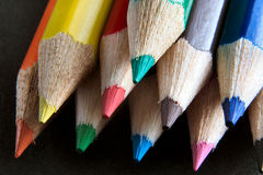 Points de crayon photos stock