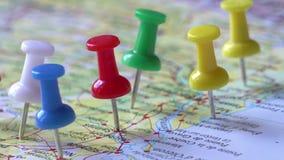 Points de destination de voyage clips vidéos