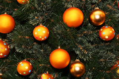 Points de Noël Photo stock