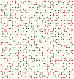 Points de polka aléatoires de mélange calme Images libres de droits