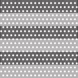 Points de polka d'illusion Images stock