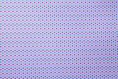 Points de polka multicolores sur le fond blanc Photo libre de droits