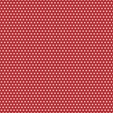 Points de polka rouges et blancs illustration stock