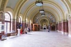 Points de repère d'Alba Iulia - musée des syndicats Photos stock