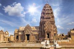Points de repère de la Thaïlande dans la ville antique de Bangkok Image stock
