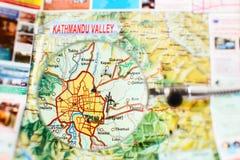 Points de repère de la vallée de Katmandou Photographie stock libre de droits